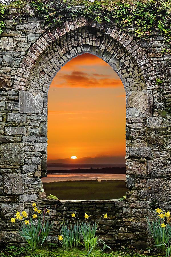 Ireland Photograph - Magical Irish Spring Sunrise by James Truett