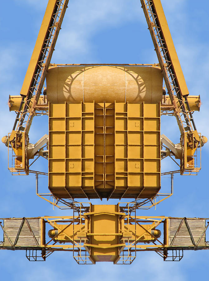 Concrete Plant Photograph - Magical Machinery 1 by Wendy J St Christopher