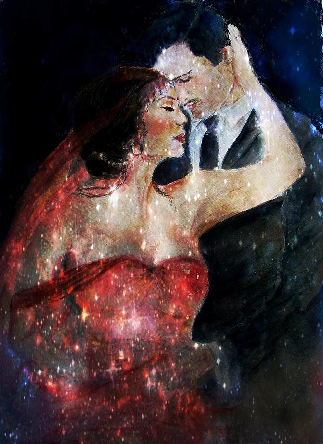 Dance - Couple Dancing - Magical Dance Painting