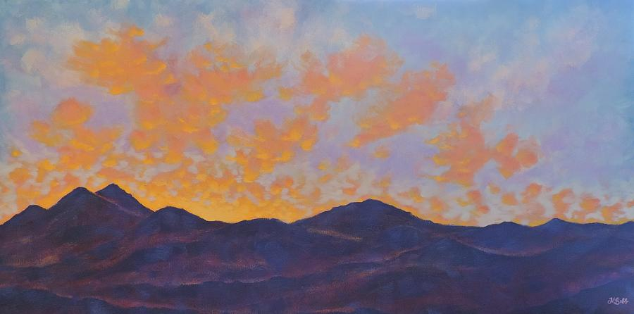 Sunset Painting - Magical Moment by Margaret Bobb