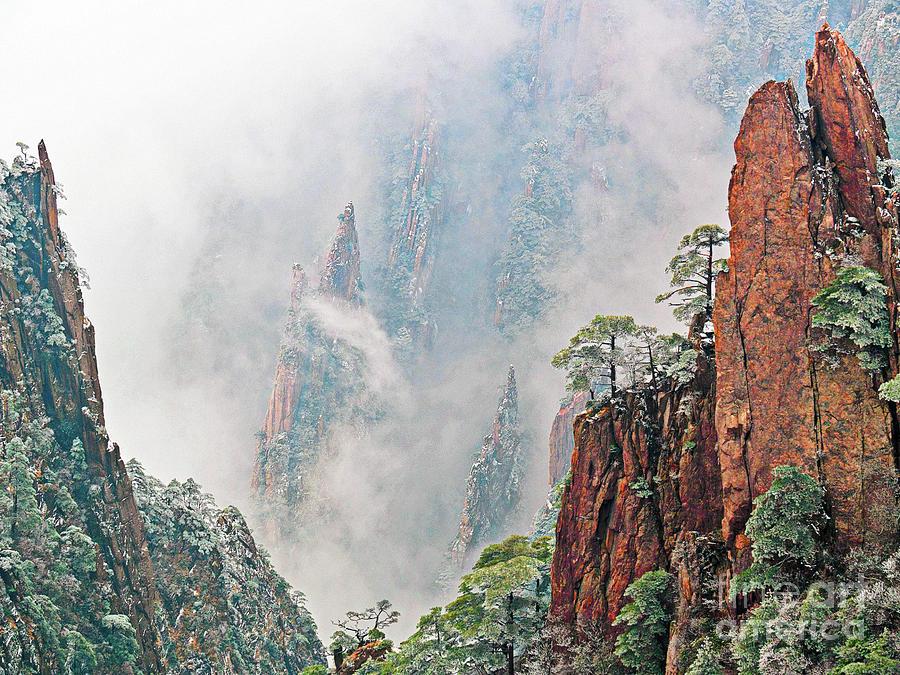 Magical Mountain Photograph by PuiYuen Ng