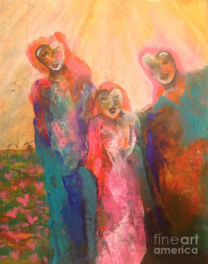 Sunshine Painting - Magical Song by Terri Davis