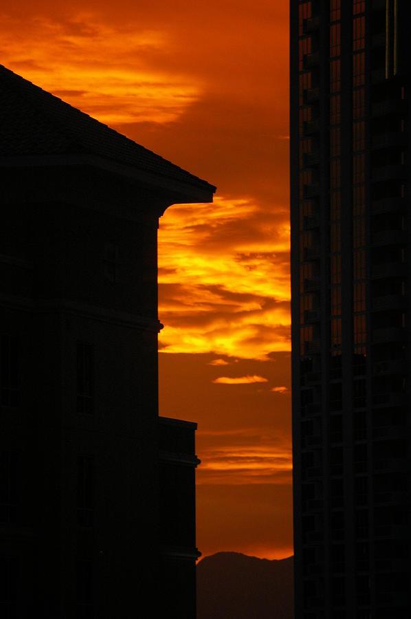 Sunset Photograph - Magical Sunset by Paula Strahan