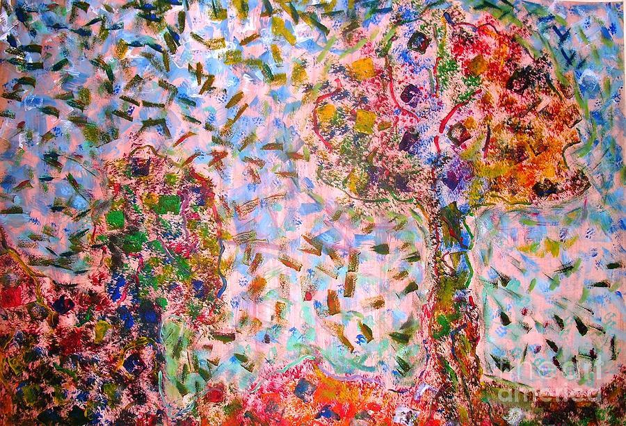 Tree Painting - Magical Tree by Nyna Niny