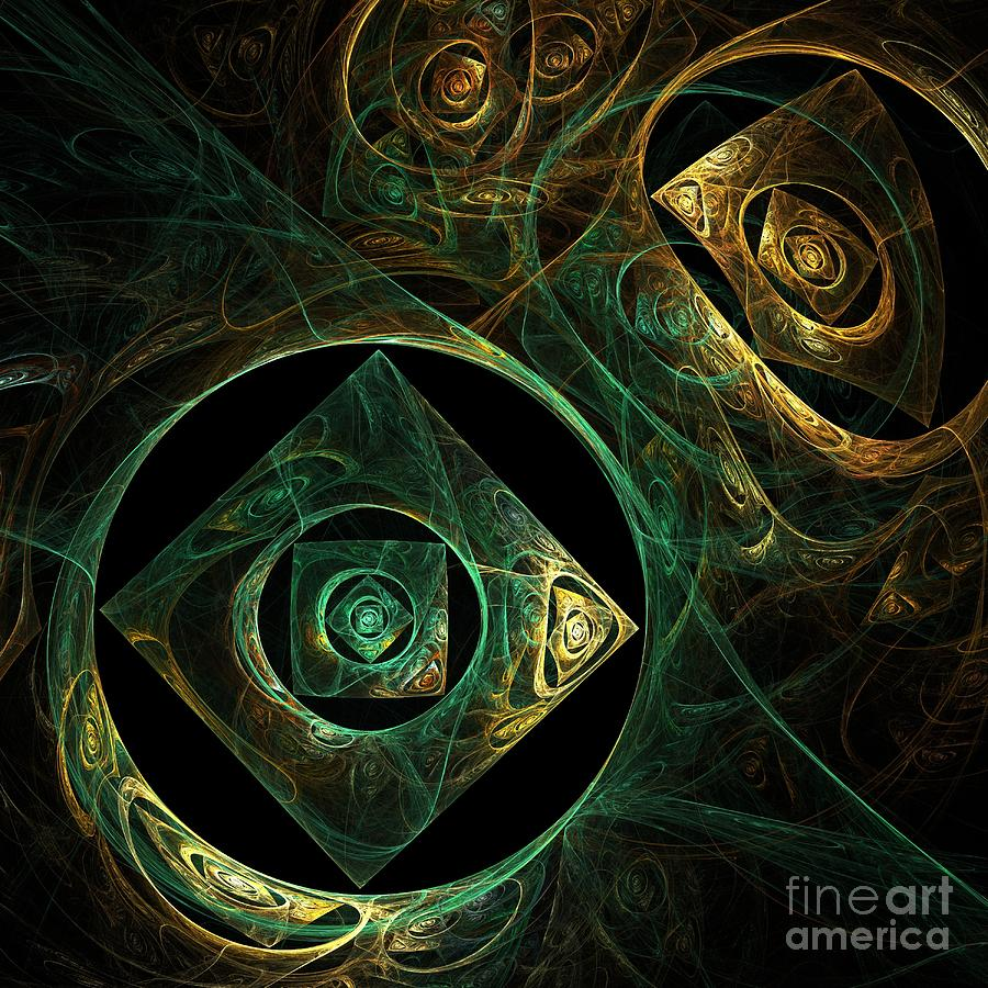 Magical Painting - Magical Vibrations by Oni H