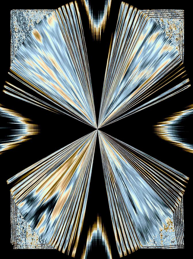 Abstract Digital Art - Magnetism 2 by Will Borden