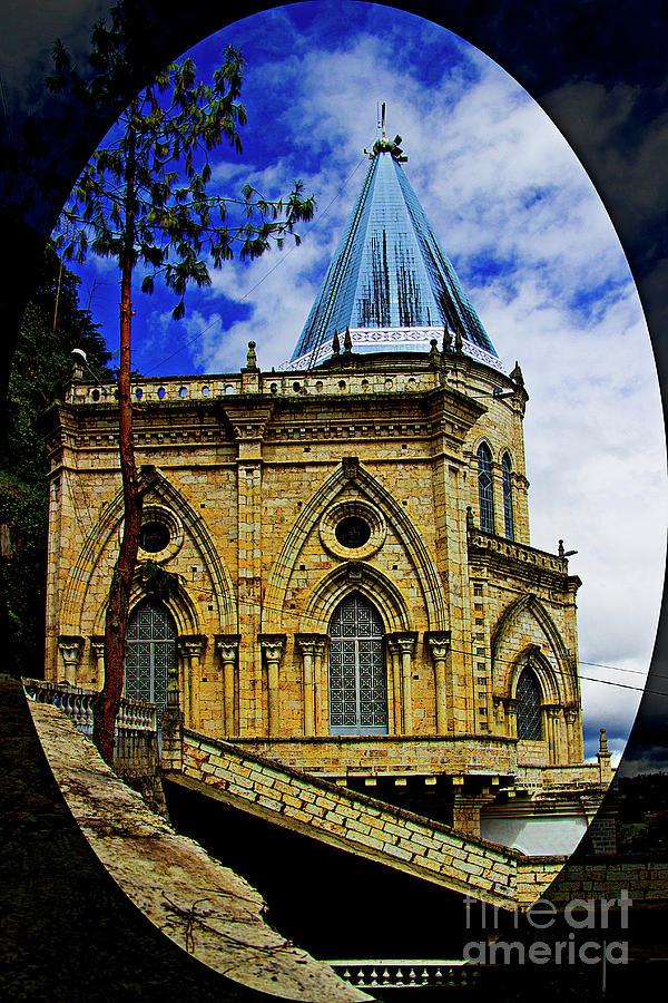 Church Photograph - Magnificent Church Of Biblian by Al Bourassa