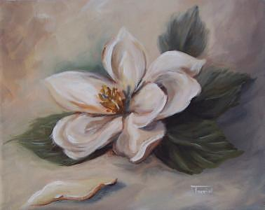 Magnolia Painting - Magnolia - 2007 -sold by Torrie Smiley