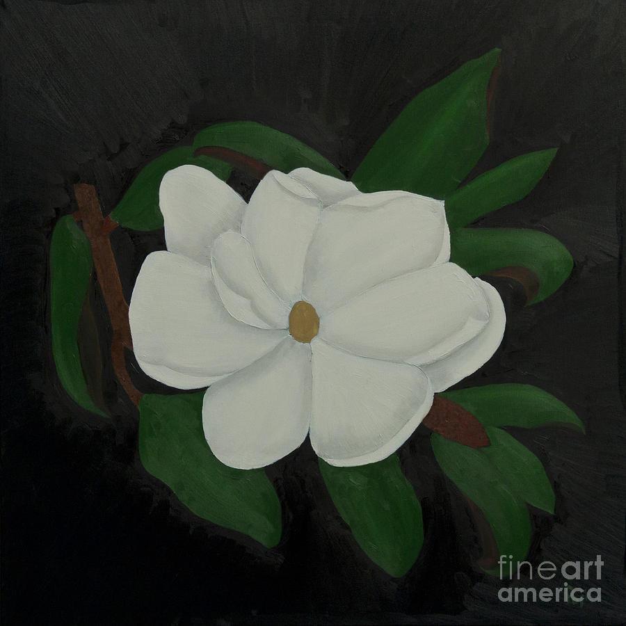 Magnolia in Black by Paul Anderson
