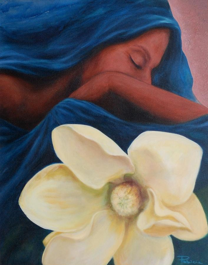 Madonna Painting - Magnolia by Patricia Ann Dees