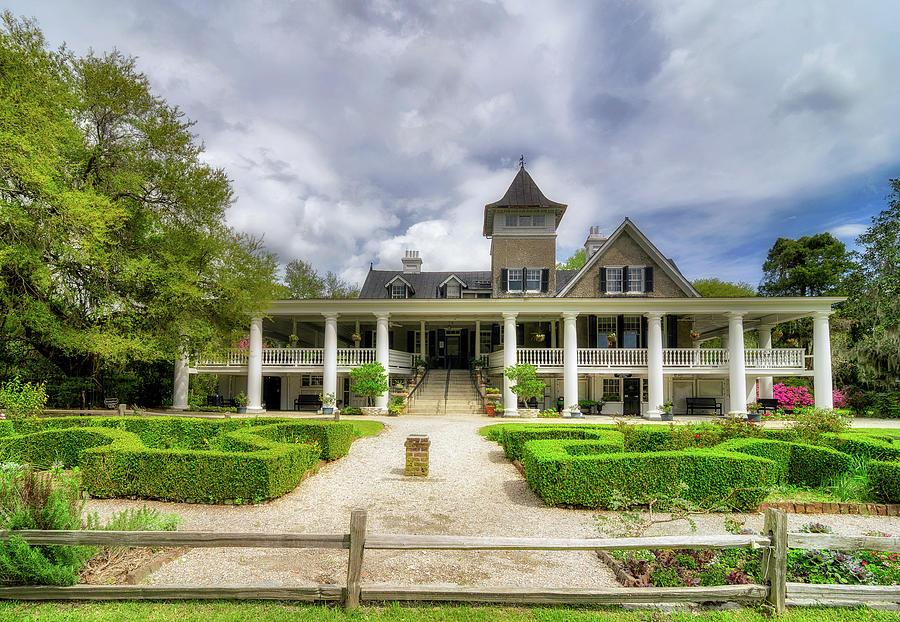 America Photograph - Magnolia Plantation Home by Drew Castelhano