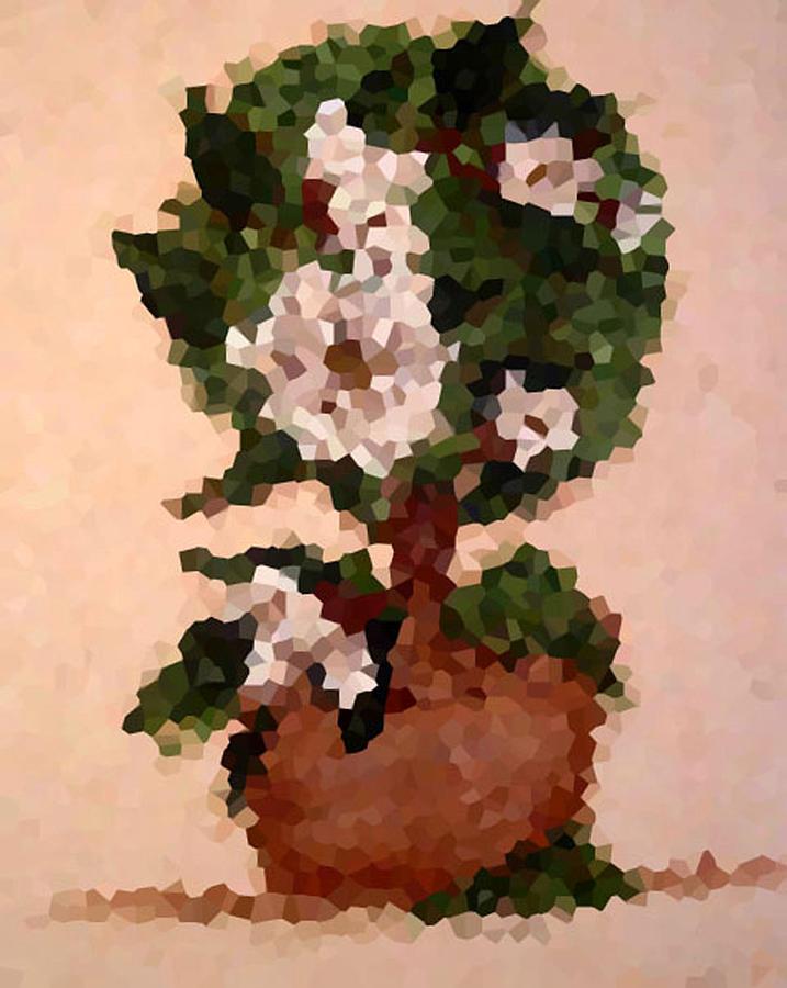 Digital Photo Digital Art - Magnolia Topiary IIi  by Barbara Griffin