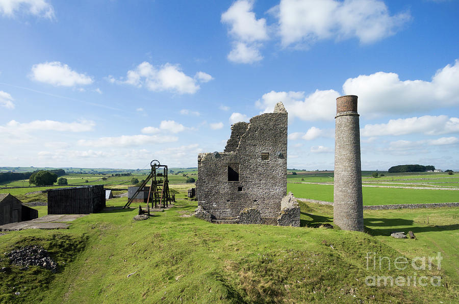 Magpie Mine Photograph - Magpie Mine 1 by Steev Stamford