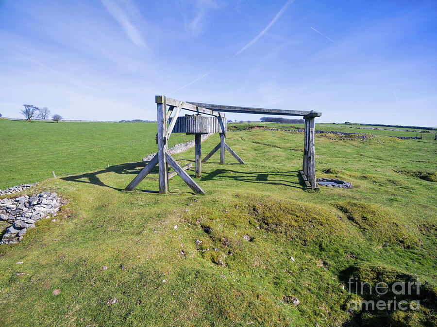 Magpie Mine Photograph - Magpie Mine, Mine, Lead Mine, Derbyshire, Peak District, Mining, by Steev Stamford