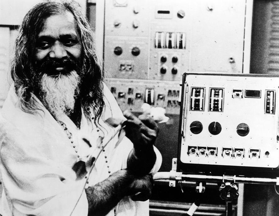 1960s Portraits Photograph - Maharishi Mahesh Yogi, Late 1960s by Everett