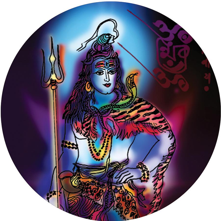 Maheshvara Shiva by Guruji Aruneshvar Paris Art Curator Katrin Suter