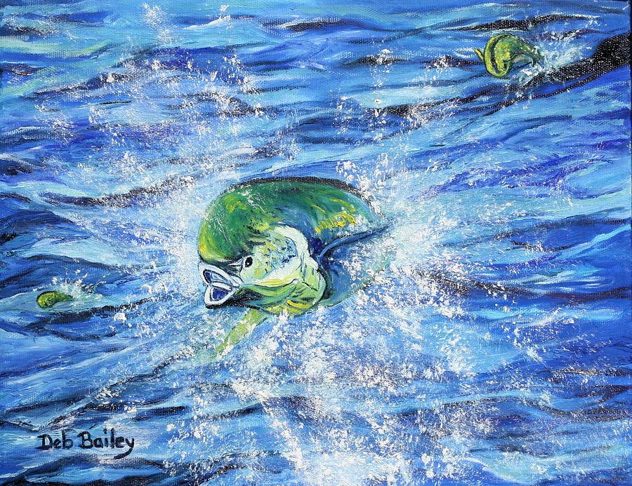 Mahis Leaping by Debra Bailey