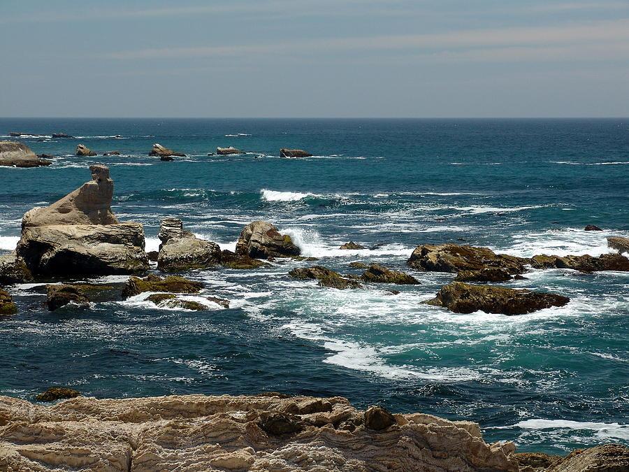 Ocean Photograph - Maiden Rock by Marty Moon