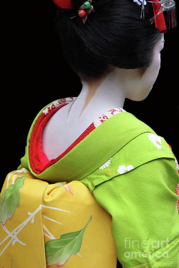 Geisha Photograph - Maiko by Delphimages Photo Creations