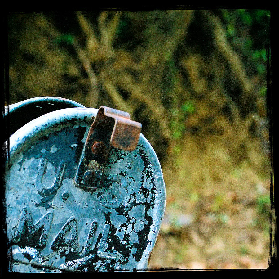 Mailbox Photograph - Mail by Leon Hollins III