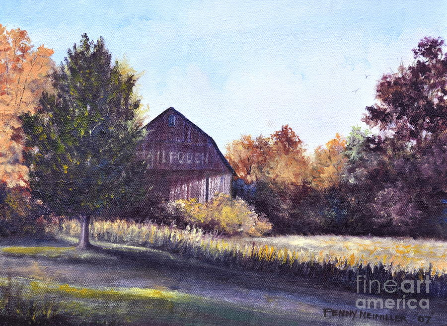 Mail Pouch Barn by Penny Neimiller
