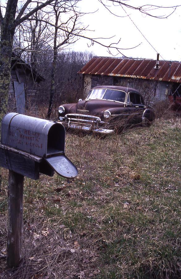 Mailbox Car Photograph by Curtis J Neeley Jr