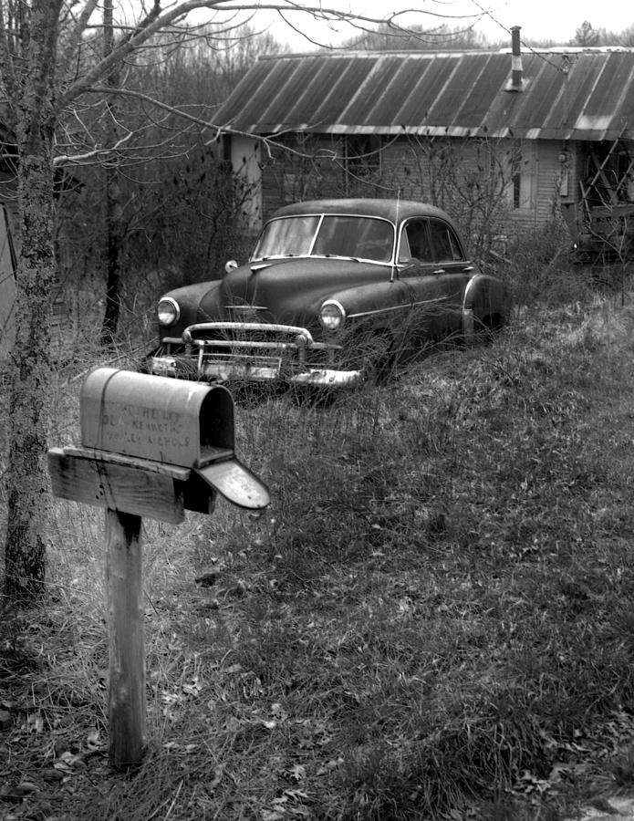 Ansel Adams Photograph - Mailboxcar by Curtis J Neeley Jr