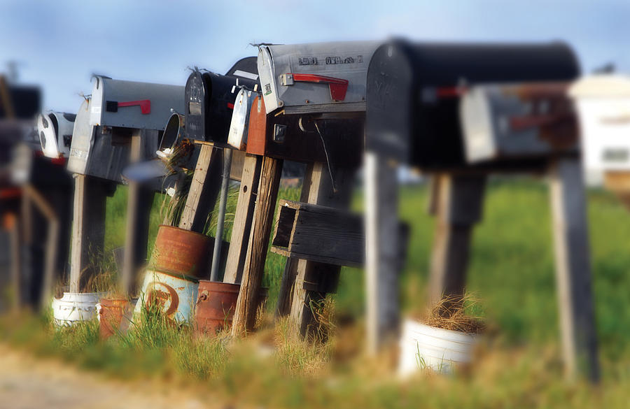 Scenic Photography Photograph - Mailboxes by Craig Incardone