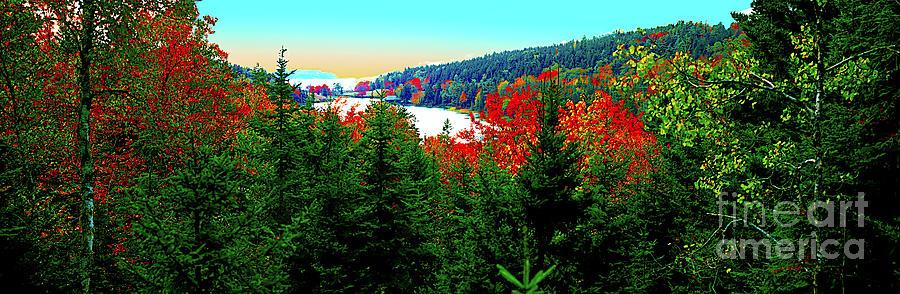 Maine Photograph - Maine Long Pond Acadia  by Tom Jelen