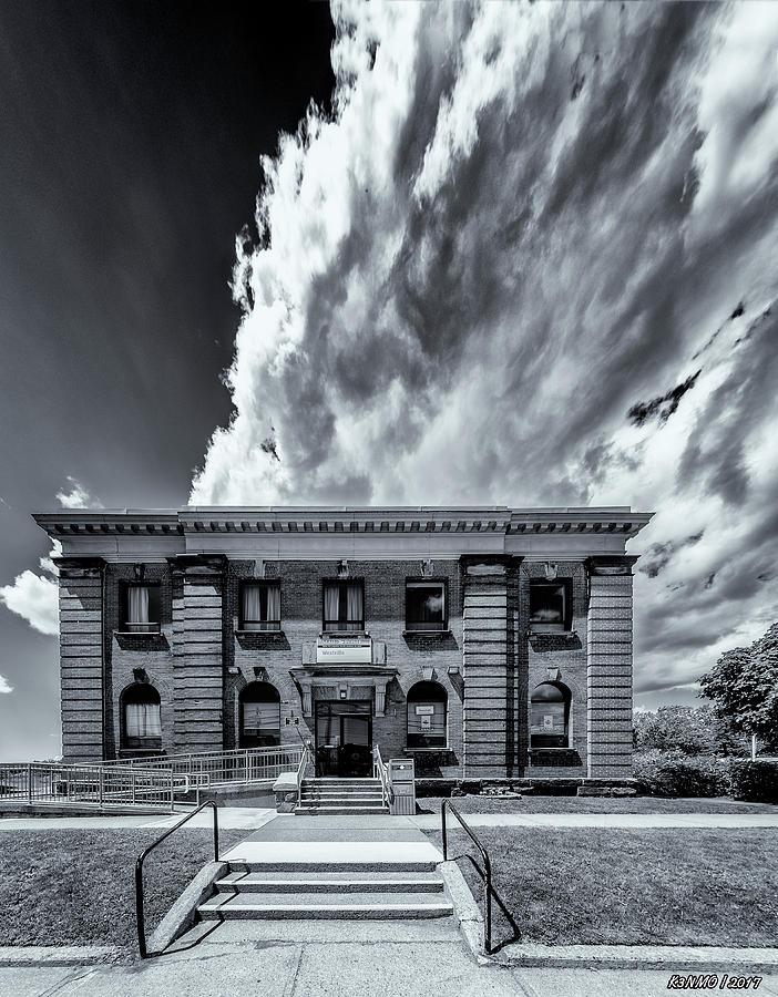 Architecture Photograph - Main Post Office, Westville, Nova Scotia by Ken Morris