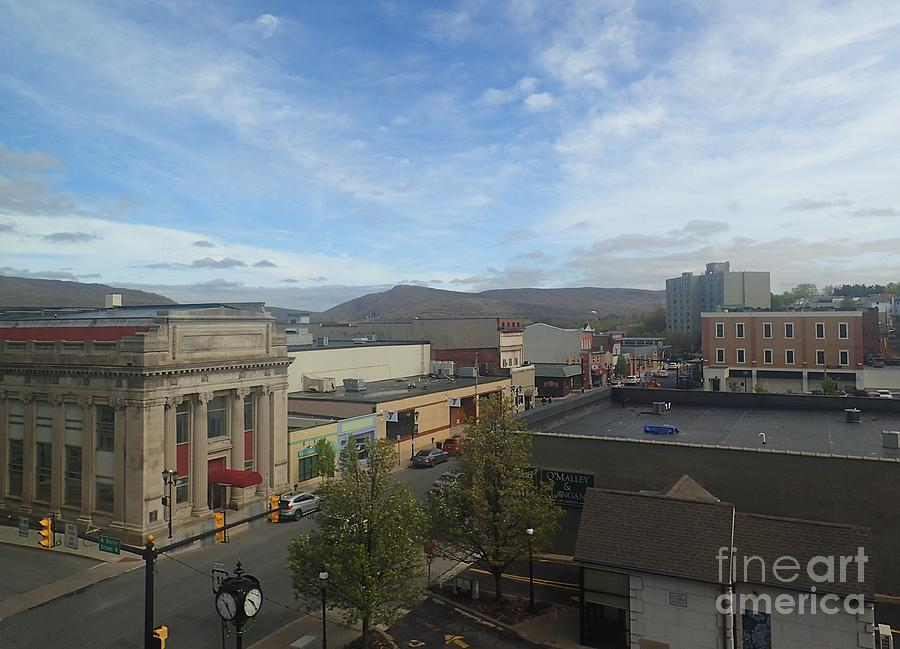 Main St to the Mountains   by Christina Verdgeline