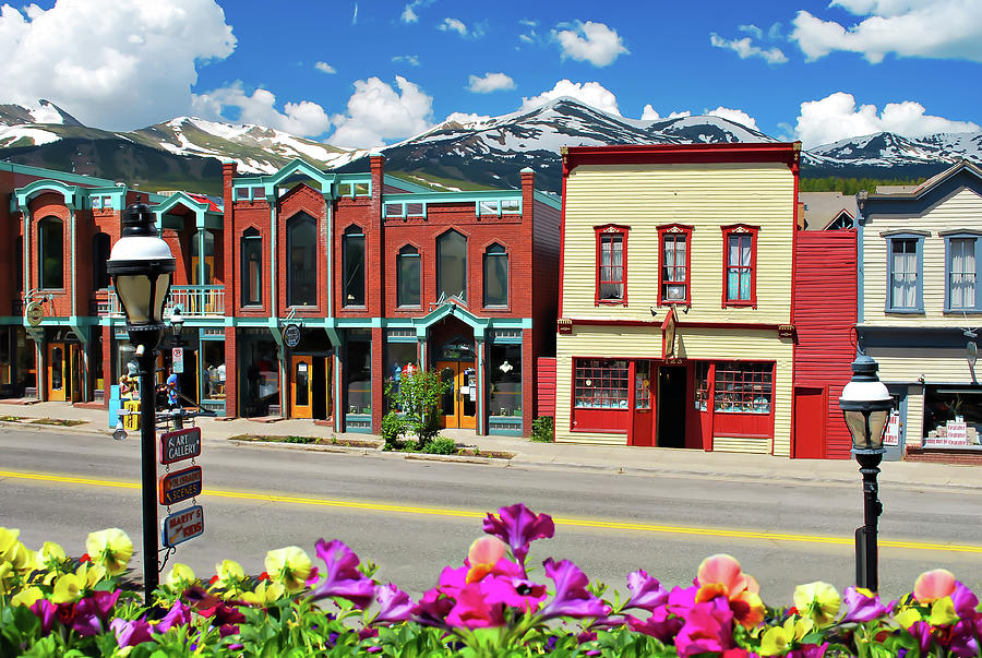 Main Street - Breckenridge Colorado by Gregory Ballos