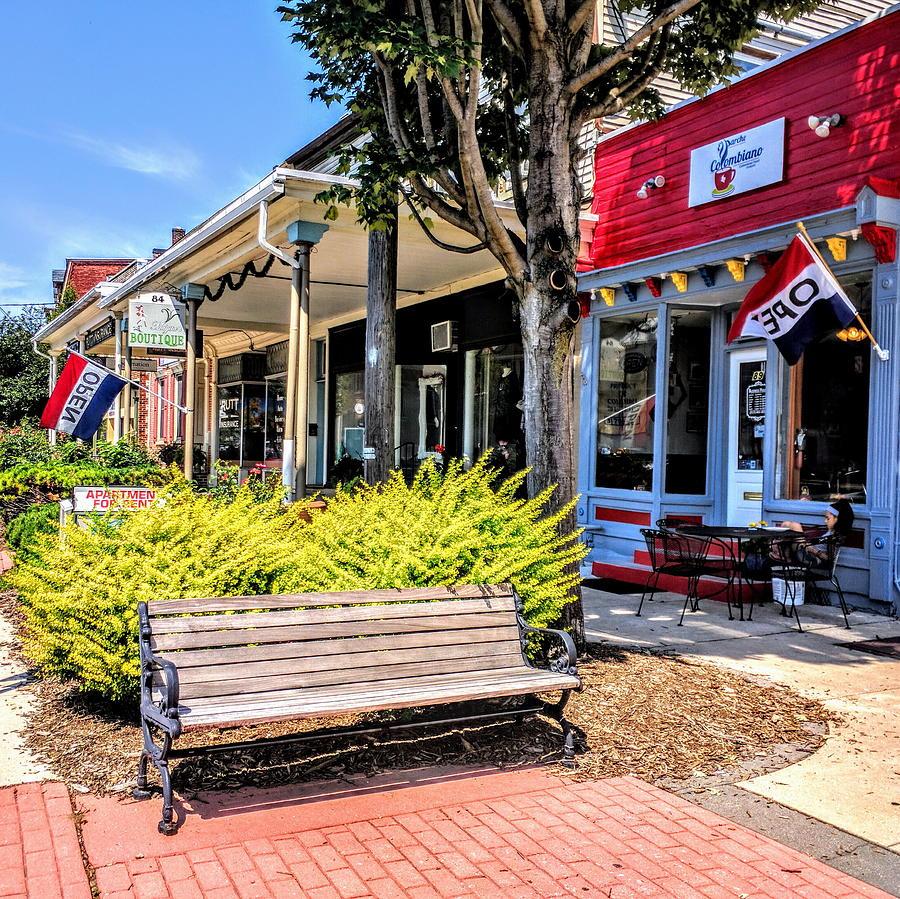Cityscape Photograph - Main Street Mount Joy by Paul Kercher