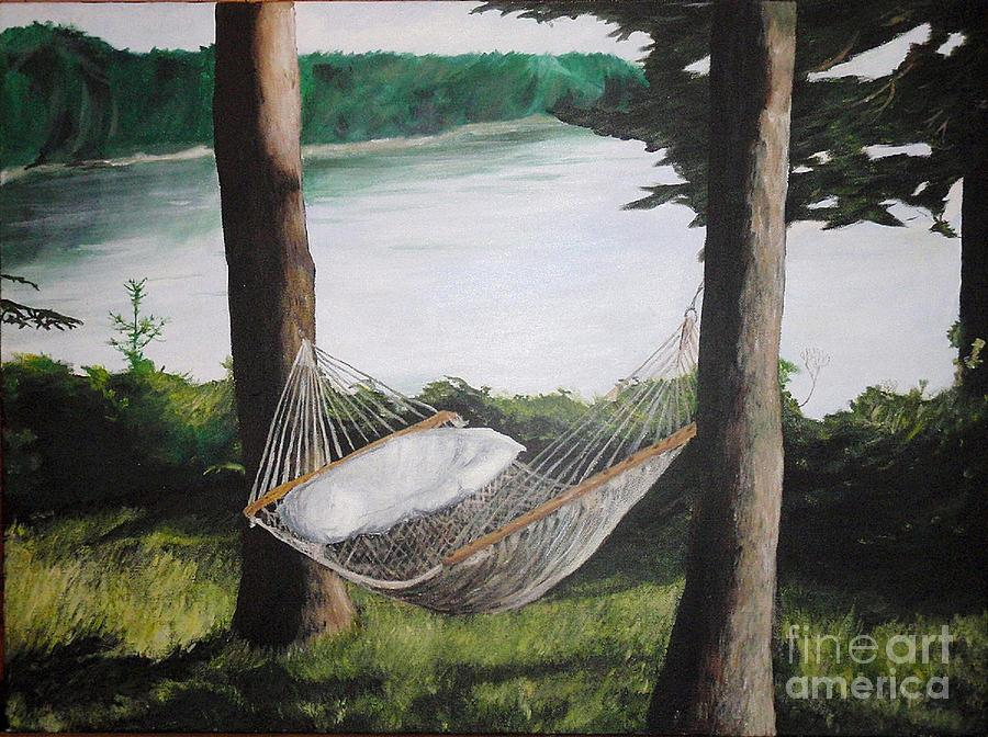 Landscape Painting - Maine   Its More Comfortable Than You Think by Max  Chaney