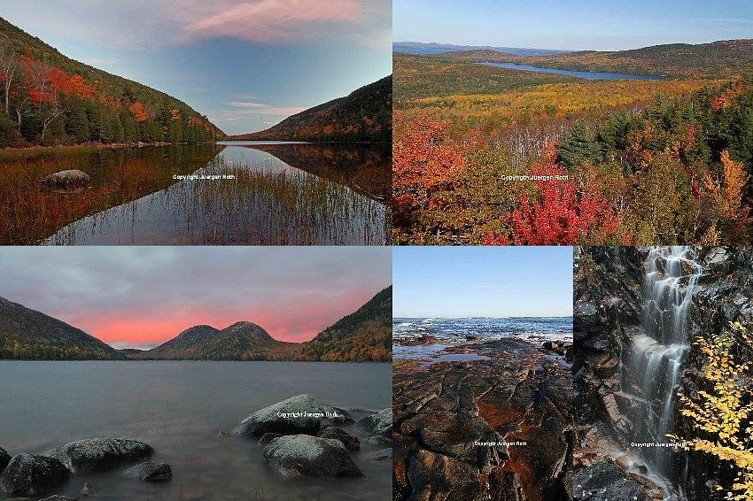 Landscape Photograph - Maine Acadia National Park Landscape Photography by Juergen Roth