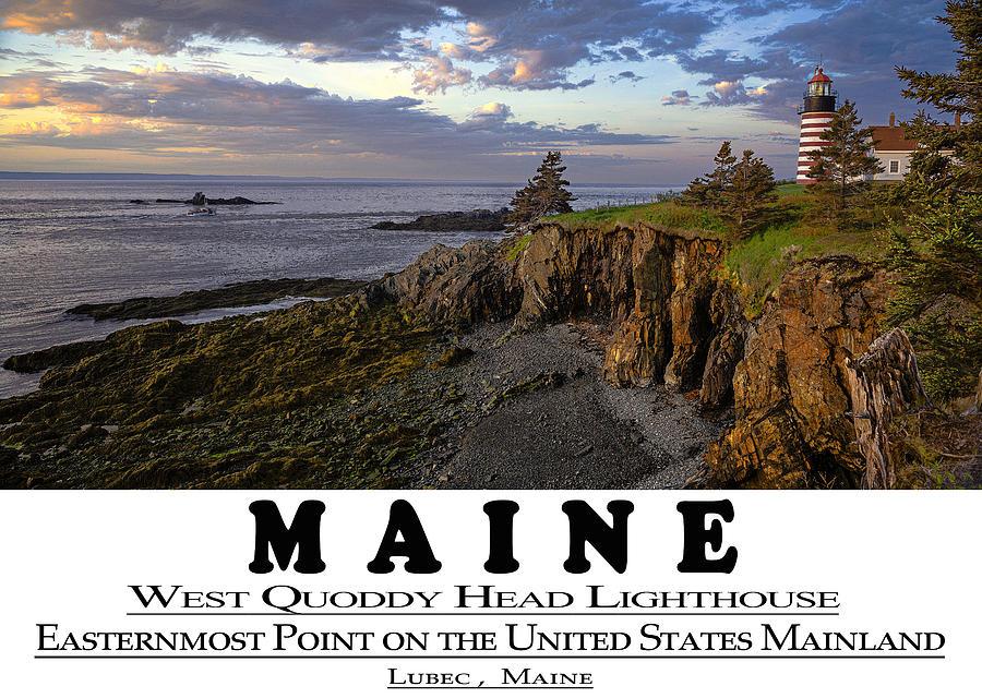 Maine Bold Coast Sentinal by Marty Saccone