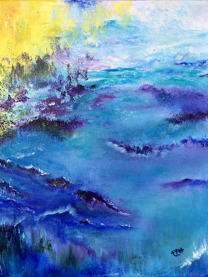 Maine Coast, First Impression by Terry R MacDonald