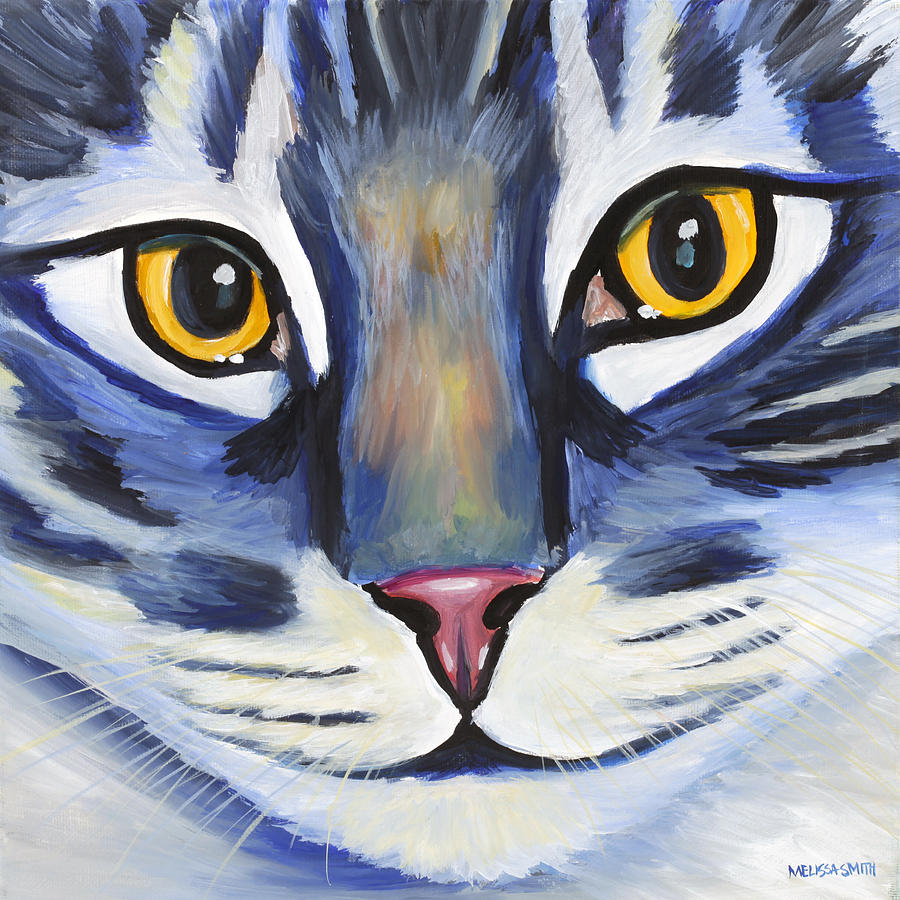 Maine Coon Painting - Maine Coon by Melissa Smith
