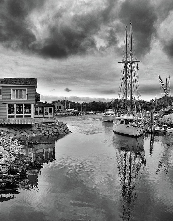 Maine Harbor by Ann Keisling