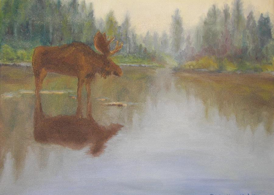 Maine Painting - Maine Icon by John Lindbeck