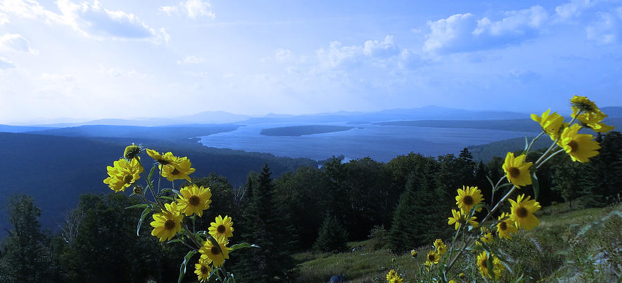 Maine Mountain Vistas by Mike Breau