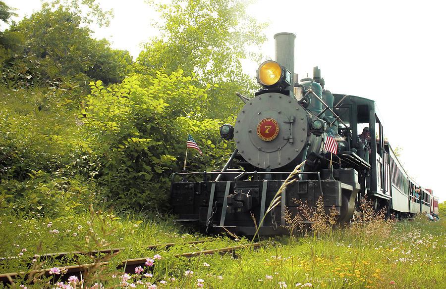Maine's narrow gauge railway by Debra Forand