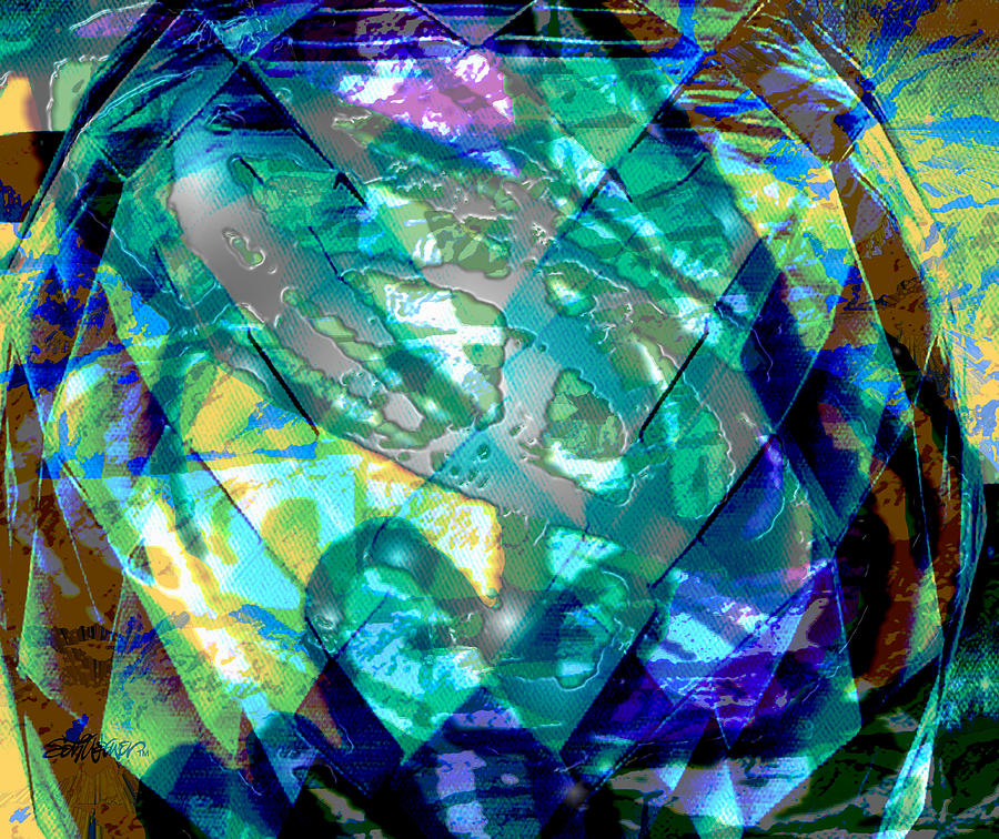 Abstract Digital Art - Mainspring Of Time by Seth Weaver