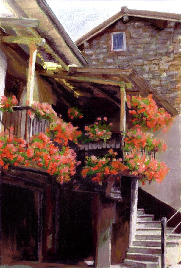 Flowers Pastel - Maison Des Fleurs by Janice Lawrence
