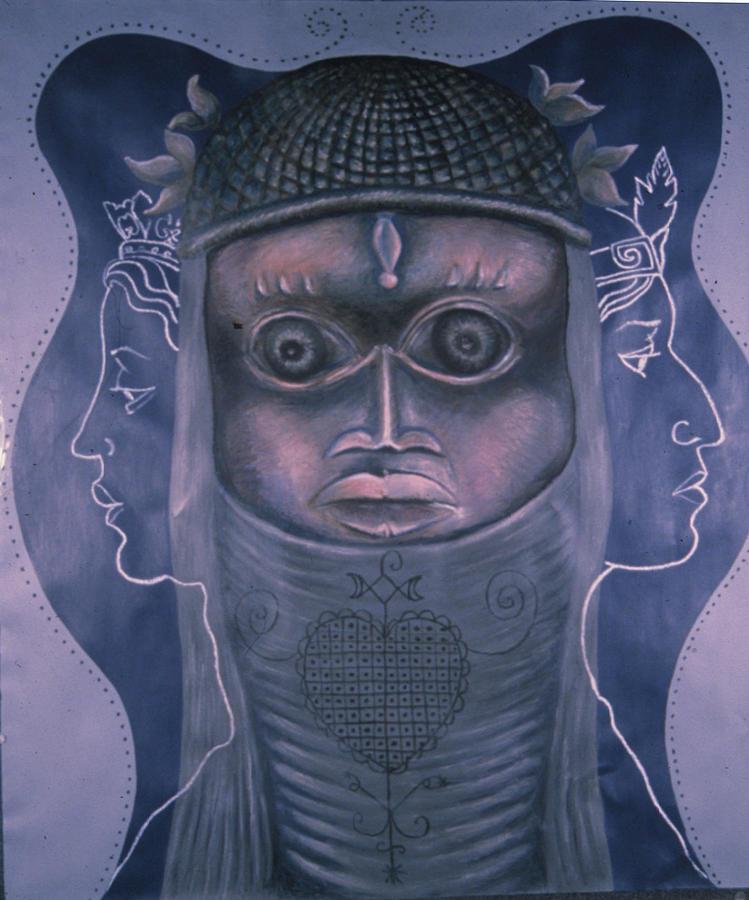 Woman Painting - Maitresses by Barbara Nesin