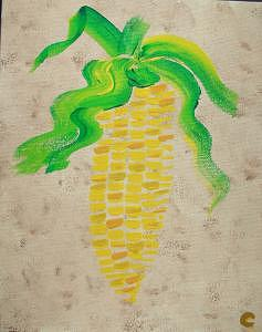 Maize Painting - Maize by Christina Wilson