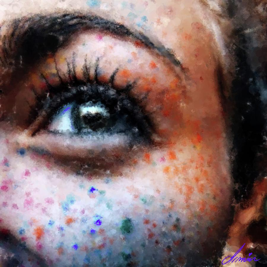 Freckles Painting - Majestic by Armin Sabanovic