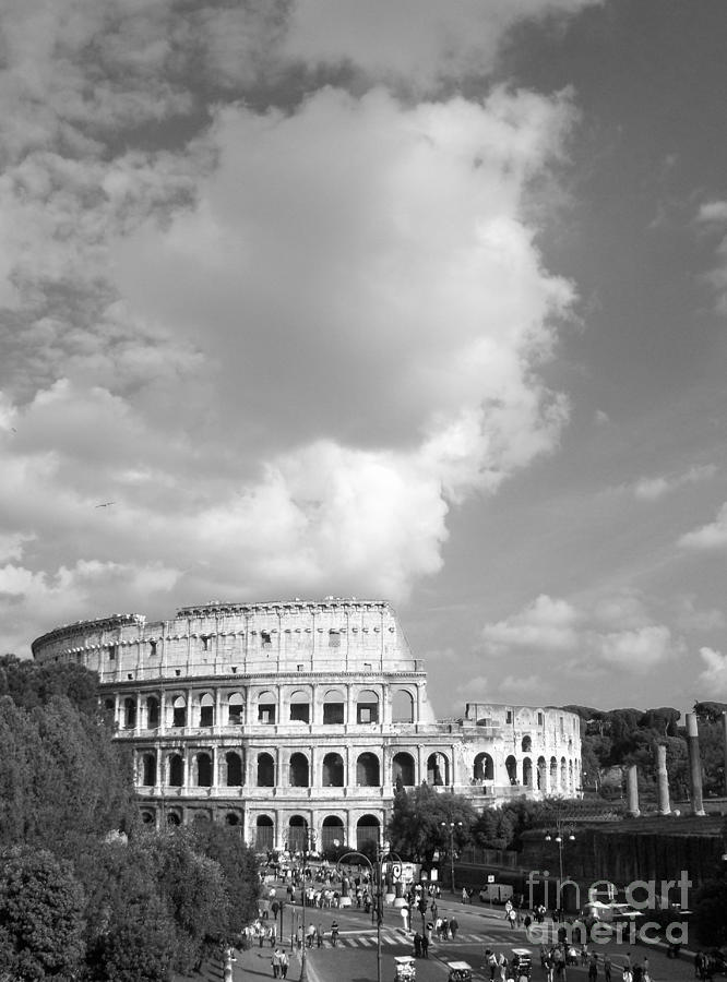 Majestic Photograph - Majestic Colosseum by Stefano Senise