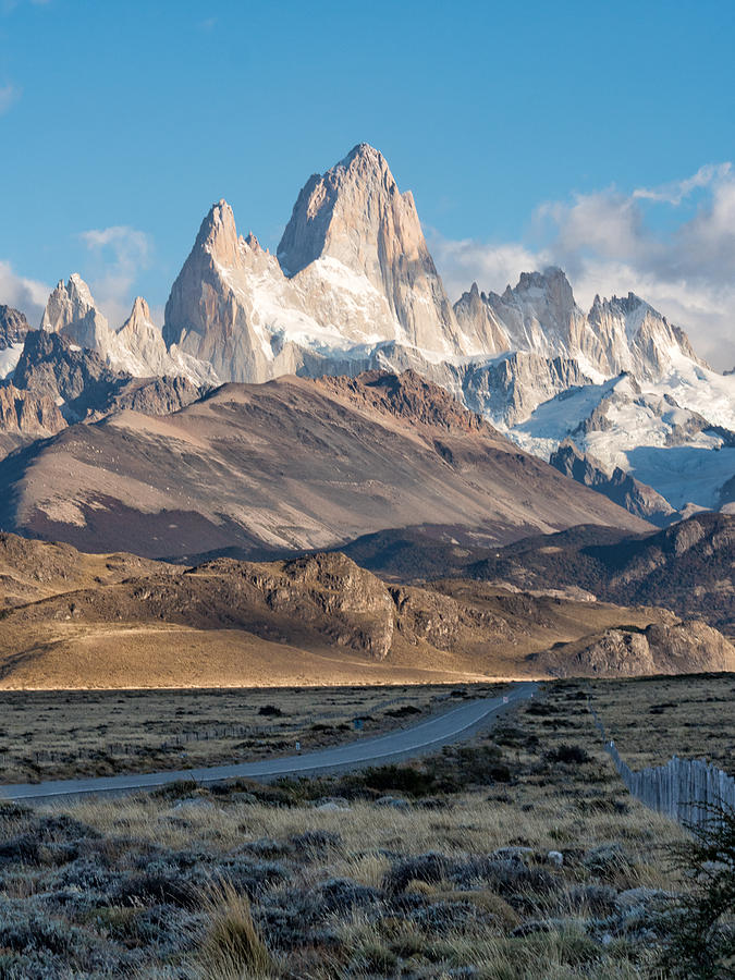 Andes Photograph - Majestic Fitz Roy by Dan Leffel
