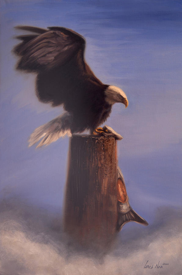 Oil Painting - Majestic by Greg Neal
